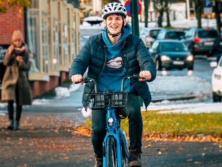 Nå har Gjøvik fått sin egen bysykkelordning!