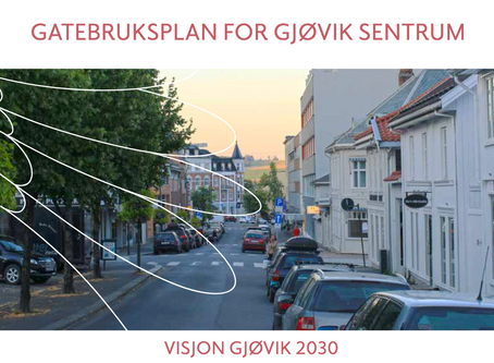Gatebruksplan Gjøvik - Gode nyheter!