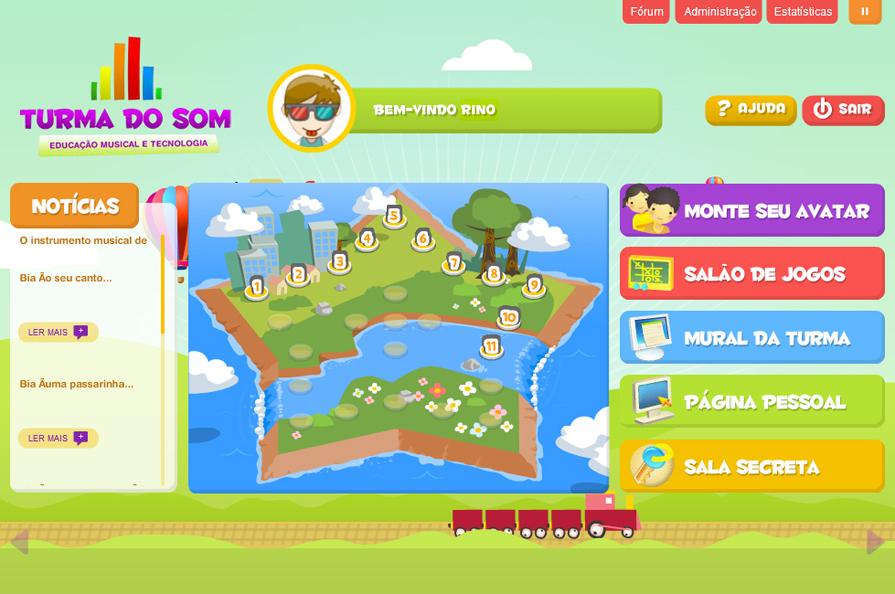 Imagem ilustrativa do menu