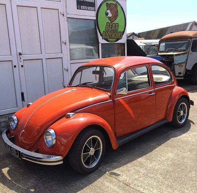 Nice beetle in for some work around the