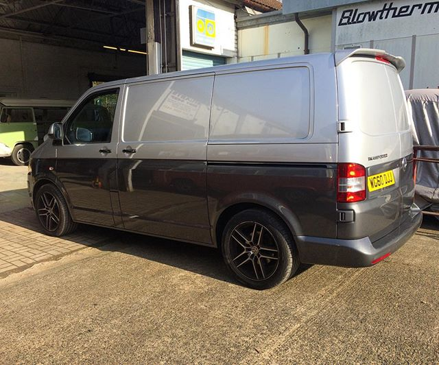 Two tone #T5 finished #vw #vanlife #vwt5