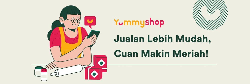 Aplikasi Yummyshop Membantu Manajemen Order Bisnis Kuliner