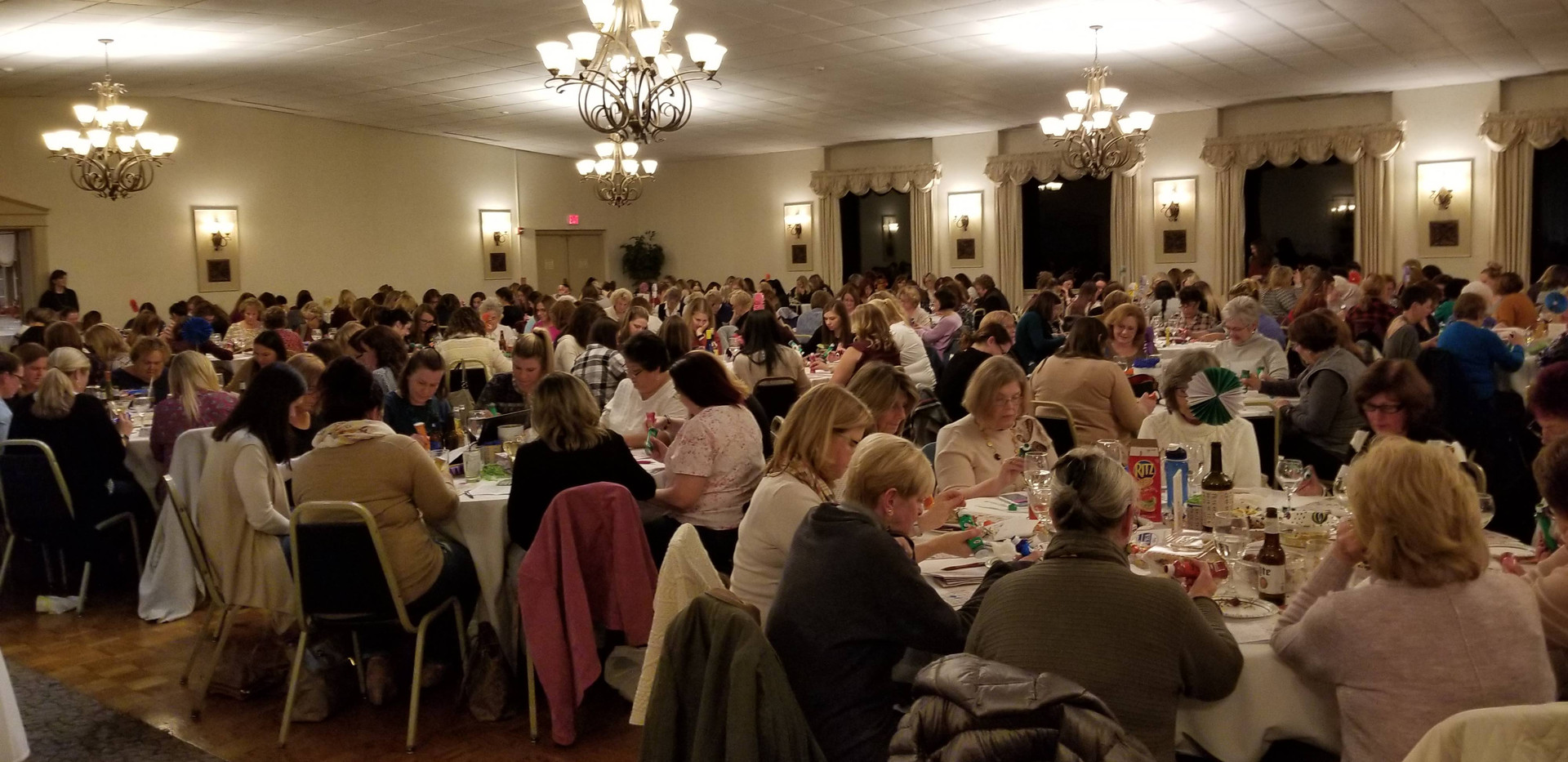 A full house for 2018 Pocketbook Bingo!