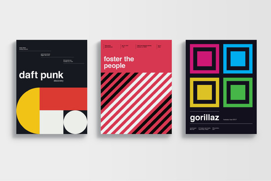 Swiss Band Posters