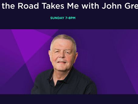 TWO MAJOR ONE HOUR INTERVIEWS - BOTH INTERVIEW S c103.ie with JOHN GREENE