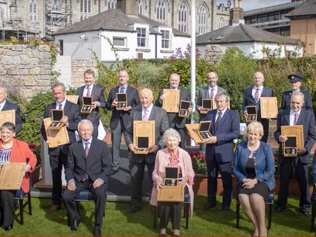 Scott Medal Bravery Ceremony Dublin Castle September 2021