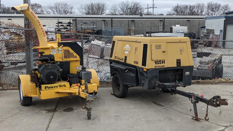 Rent Generators & Wood Chippers