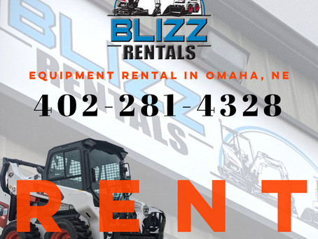 Equipment Rental for Lawn Care & Landscaping Projects
