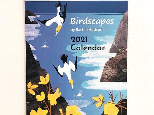 2021 A4 'Birdscapes' wall calendar