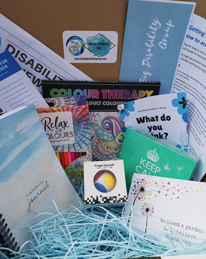 The Big Disability Group in West Dunbartonshire integrated our seeds into mental wellbeing boxes they distributed
