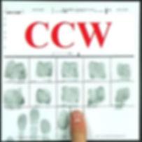 Fingerprinting for CCW