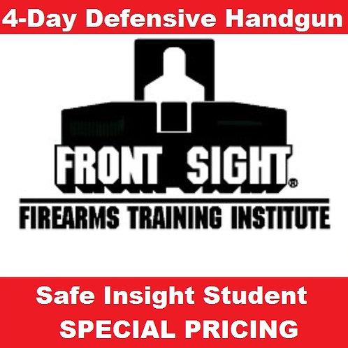 4-Day Defensive Handgun