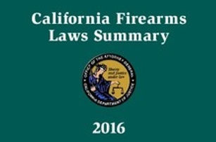 ccw training on california handgun laws