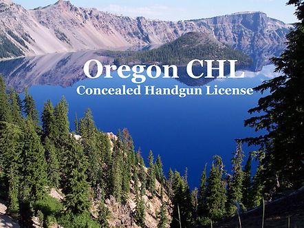 ccw training and firearms training for oregon chl