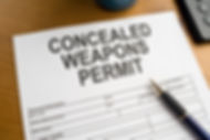 Concealed Permit (CCW) Application