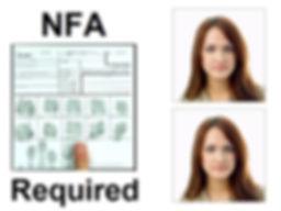 NFA Fingeprint and Passport Photos