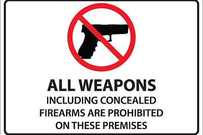 ccw training for prohibited locations