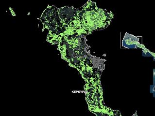 Ανάρτηση Δασικών Χαρτών στο νησί της Κέρκυρας