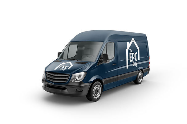 Photo of van used for EPC surveys