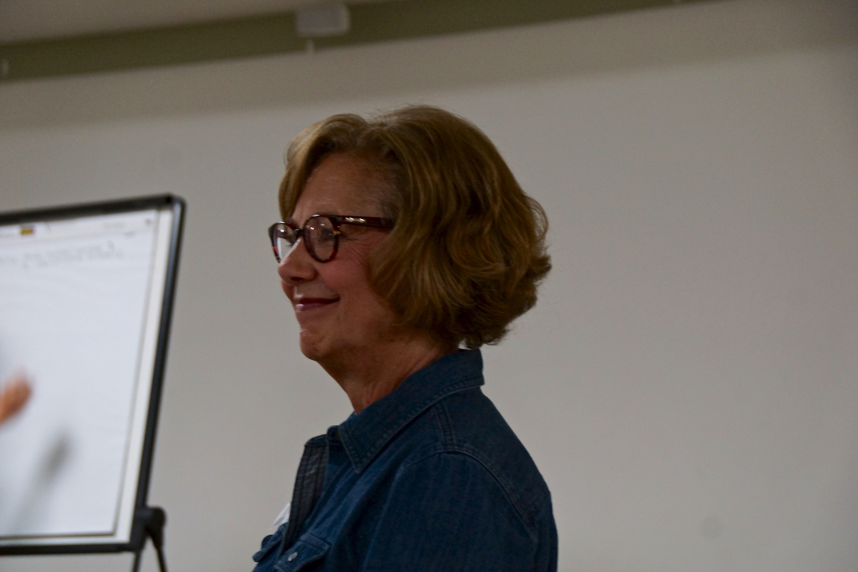 Anne Porter-Day, our facilitator