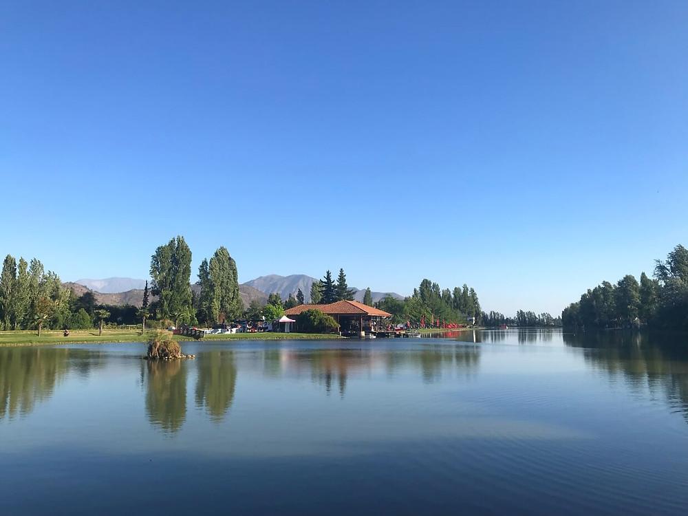 Lago Los Morros, San Bernardo, Chile. Photo: Jackie Jongenelen