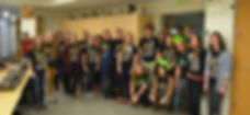 Volunteer Docents wearing PrettyDead.jpg