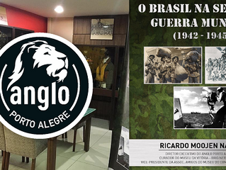 Anglo recebe exposição com artefatos originais da Segunda Guerra Mundial