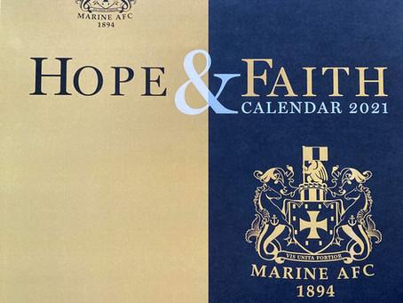 Marine in the Community launch 2021 Calendar