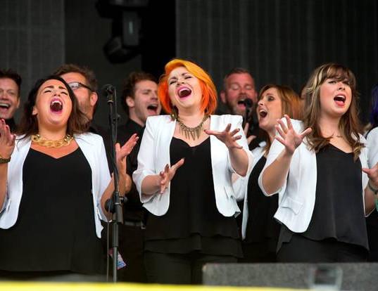 Pop'n Choir in Peachtree City