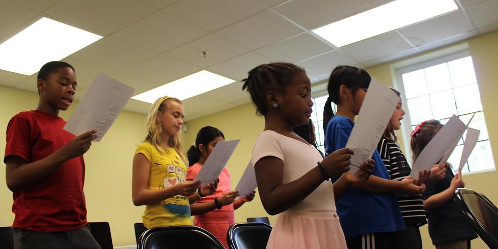 Vocal Workshop for Children-Motown Madness