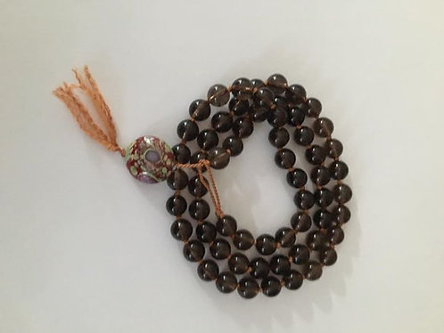 Smokey Quartz Hand Knotted