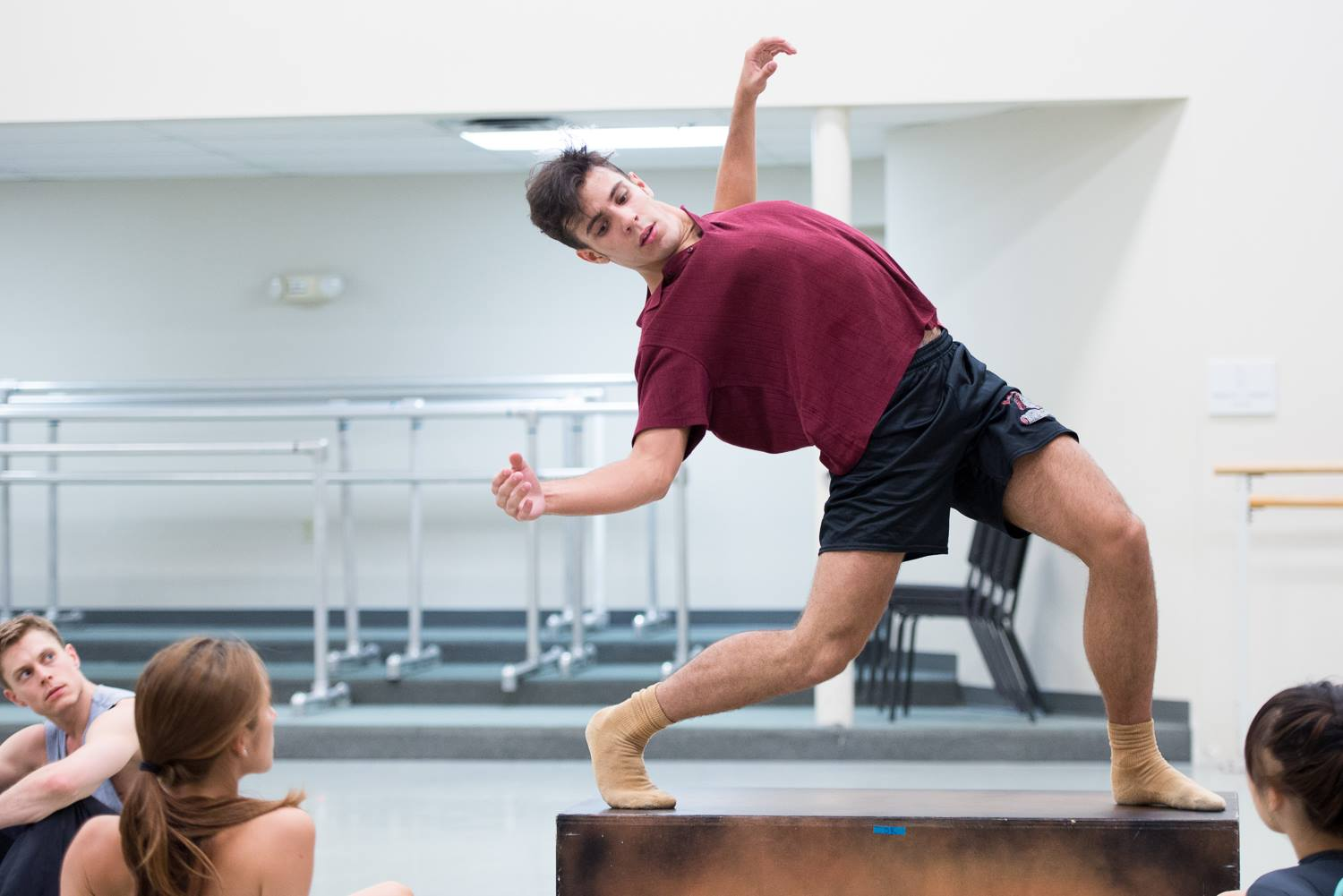 """I Couldn't Fly When"" rehearsal dancer Taylor Carrasco"
