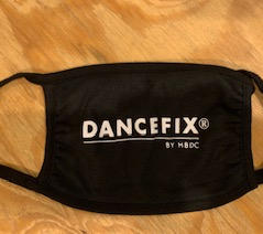 DANCEFIX face mask 100% cotton
