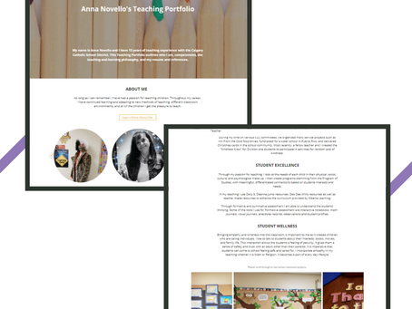 Professional and Creative Digital Portfolios