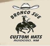 Bronco Sue Custom Hats