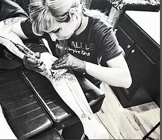 Fox Richards Tattoo