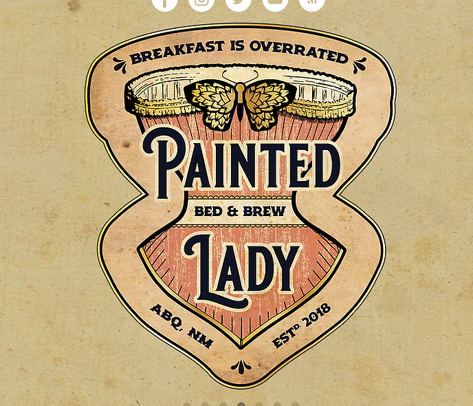 Painted Lady Bed and Brew