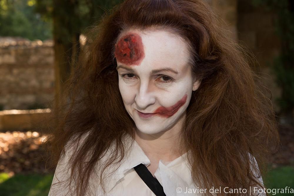 Una muestra del maquillaje realizado por Nati Sansierra y Fernanda.