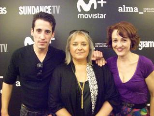 Y ayer, en muy buena compañía, en la final de SUNDANCE TV Shorts.