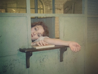 Performance en la estación fantasma del metro de Chamberí