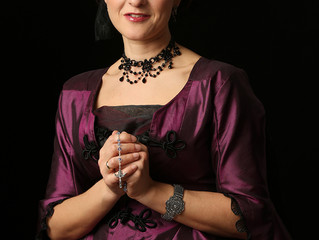 "Eva Velasco interpreta a Madame de Tourvel en ""Relaciones Perniciosas"""