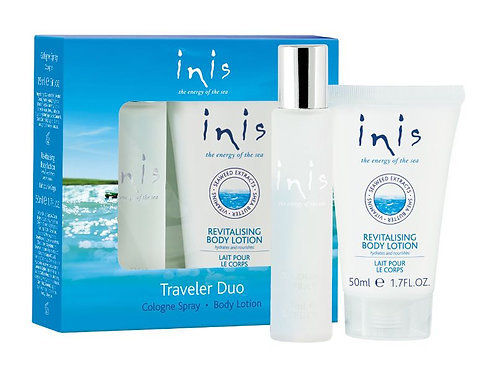 Inis Traveler Duo Cologne Spray and Body Lotion
