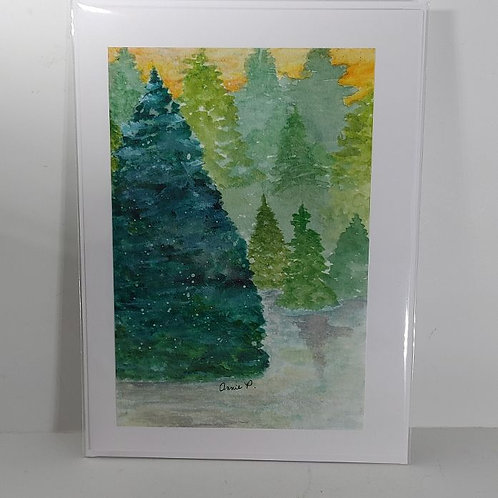Misty Forest by Annie