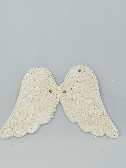 Love This Beach -Ornament Angel Wings