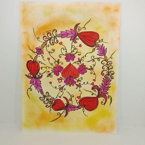 Notecards - Valentine ring
