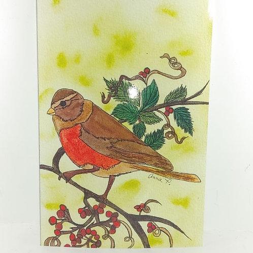 Winter Robin by Annie