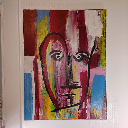 """Canvas 18x24 - """"See Me"""""""
