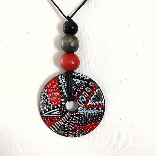 Necklace Red, Black and more