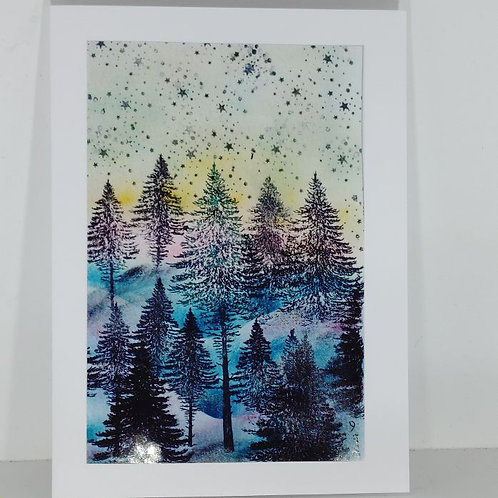 Winter Woods by Annie