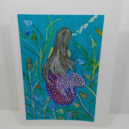 Mermaid in the River by Annie